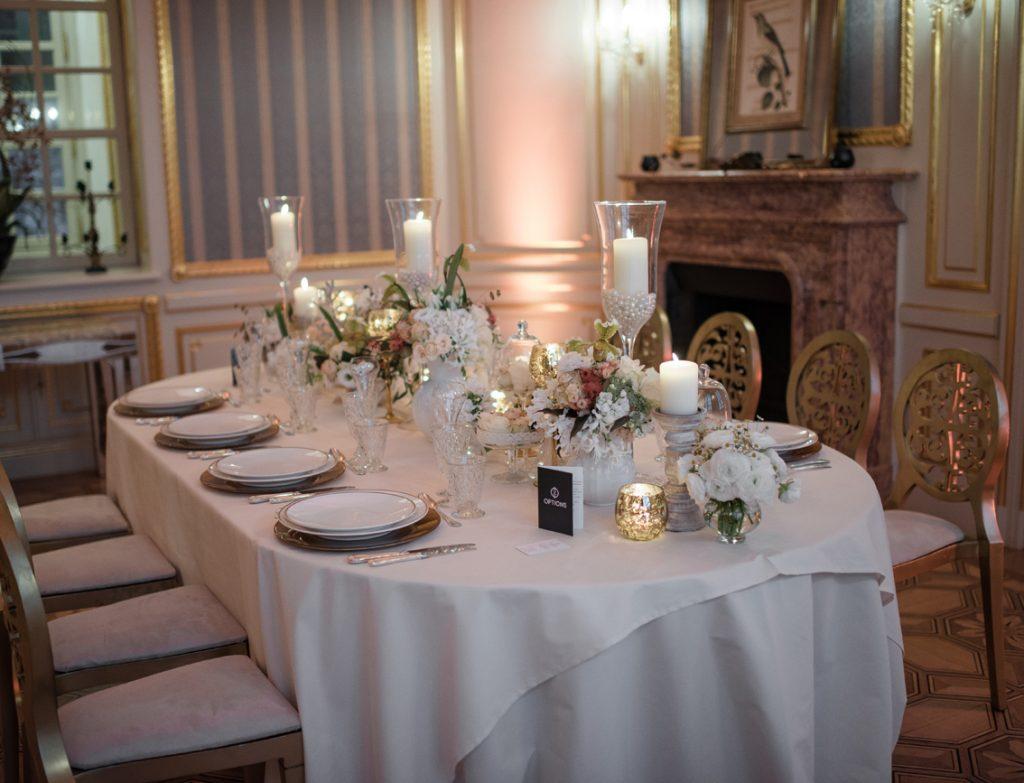 Salon Bleu - Château Saint Georges