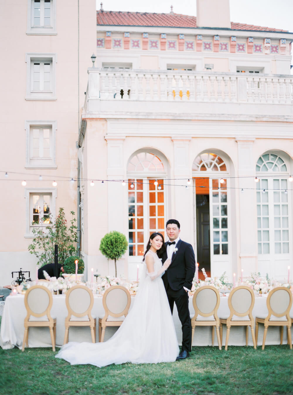 Château Saint Georges, Cote d'Azur - an event & destination wedding venue in Grasse on the French Riviera, South of France, near Nice & Cannes.